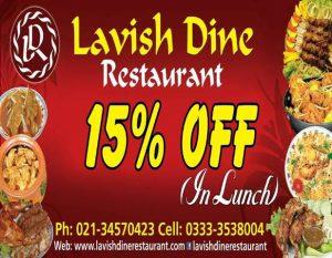 Lavish Dine - khappa.pk